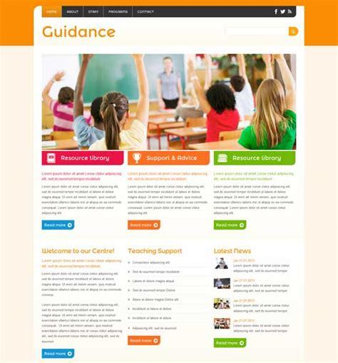 play school website templates free 90 best education website templates free premium