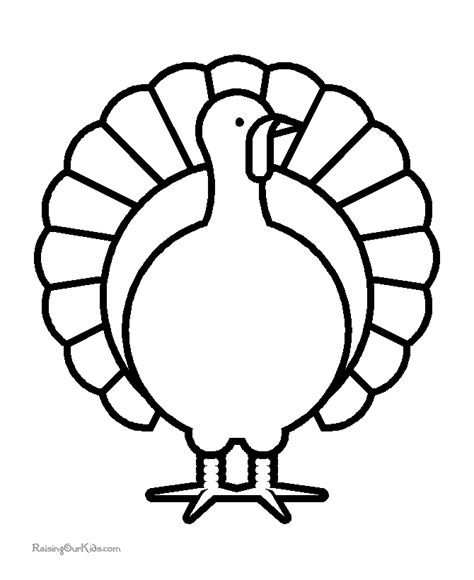 printable picture of a turkey to color thanksgiving turkey printable coloring sheets great for a