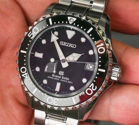automatic springs grand grand seiko drive diver sbga029 on
