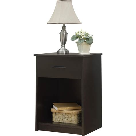 Nightstand Tables nightstand stand end table 1 drawer furniture