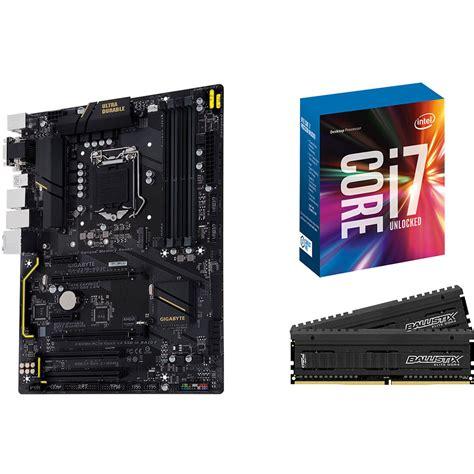 i7 7700k cpu fan gigabyte ga z270 hd3p lga 1151 atx motherboard intel core b h