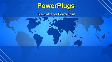 powerpoint templates world powerpoint template a up view of some parts of a