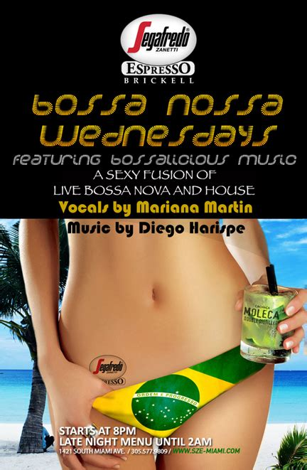 bossa nova house music bossa nova is beautiful at segafredo brickell miami 1 27 10 the soul of miami