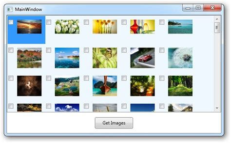 xaml layout slow c listbox with thousand of images in a wrappanel