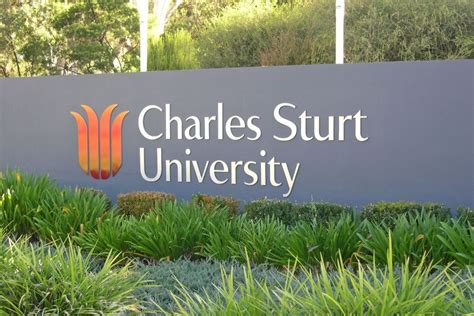 Charles Sturt Mba Review by Front Sign For Charles Sturt In Bathurst