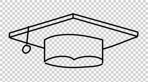 video: graduation hat line drawing illustration animation