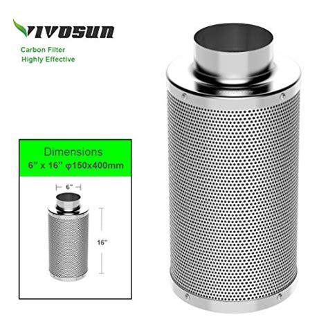 vivosun air carbon filter odor control  australia