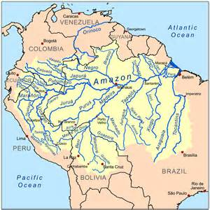 south america rainforest map map of the rainforest