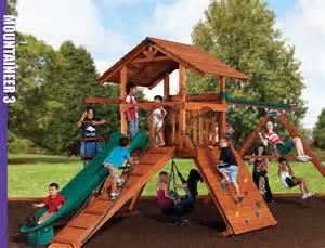 Backyard Adventures Swing Sets Backyard Adventures Of Mass Playgrounds Playsets