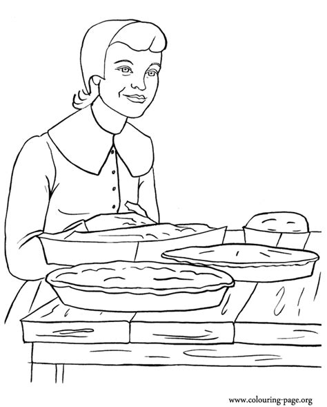 man baking coloring page coloring pages