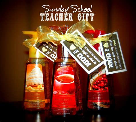 sunday school teacher gift