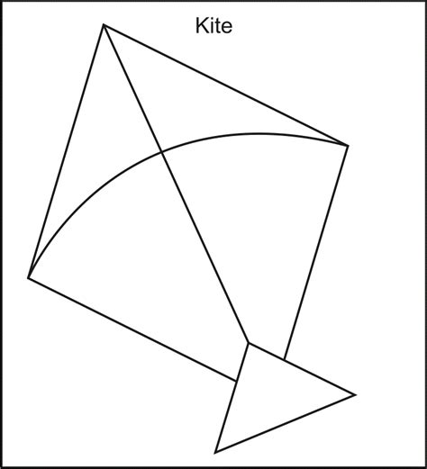 free printable coloring page of a kite kite printable clipart best