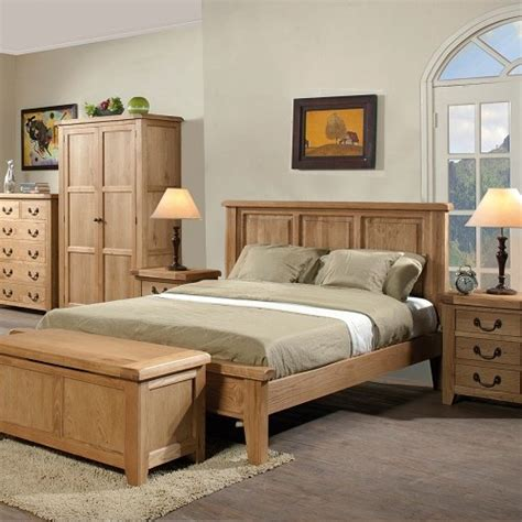 Oak Bedroom Set by Bedroom Furniture Oak Furniture Uk