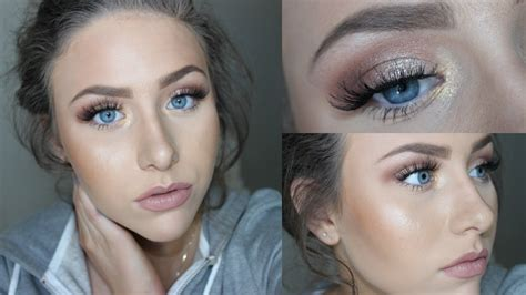natural glam makeup tutorial natural glam makeup tutorial youtube