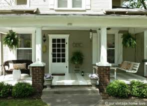 porch ideas our vintage home love spring summer porch ideas