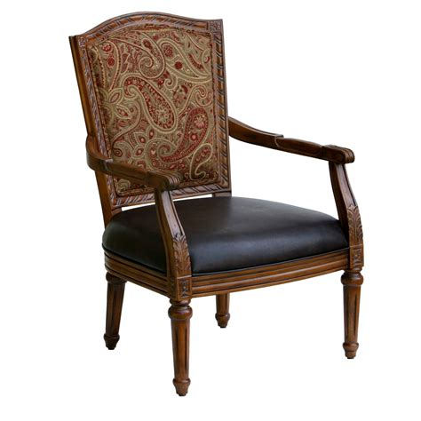 Arm Accent Chair Furniture Blue Upholstered Accent Chair With Wooden Flared Leg With Chair Furniture Also
