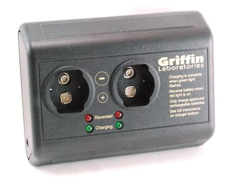 Baterai Charger 9 Volt the smartcharger 9v battery charger by griffin laboratories
