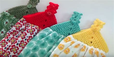 Creative Grandma Giveaway - crochet towel topper instructions creative grandma