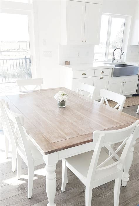 White Kitchen Table And Chairs by Whitelanedecor Whitelanedecor Dining Room Table Liming