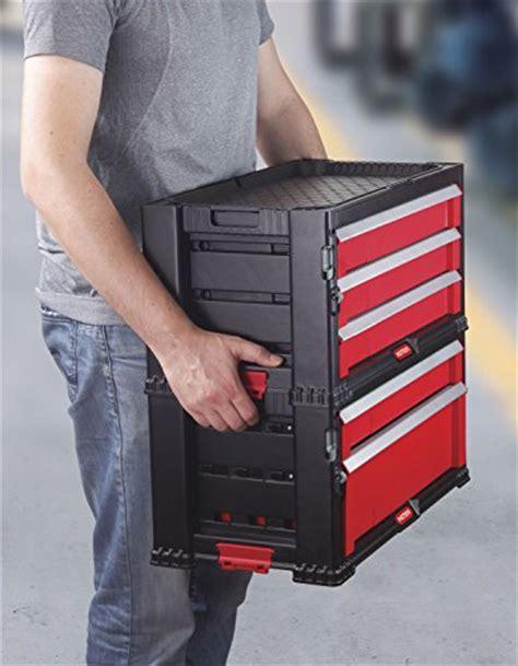 Keter 5 Drawer Modular Garage and Tool Organizer and