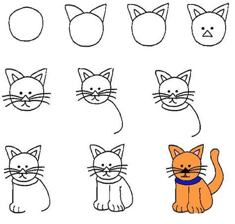 pin en sevdi i oyun minik hayvanlar ve bunlar kendi yazd 24 adet adım adım kolay hayvan 199 izimleri anaokulu kedi