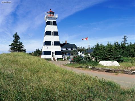 West Point Light west point lighthouse prince edward island canada