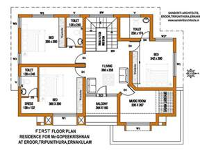 Kerala House Plans With Estimate For A 2900 Sq Ft Home Design Kerala Home Design Ground Floor