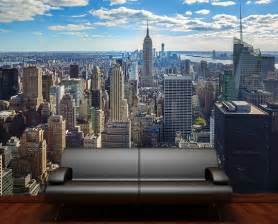 new york wall murals pics photos new york skyline wallpaper mural