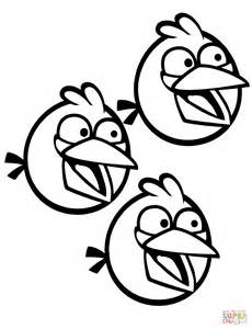 Blue Angry Bird Coloring Page blue angry bird coloring page coloring europe