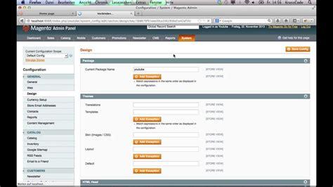 magento layout xml not loading magento tutorial 1 theme erstellen deutsch youtube