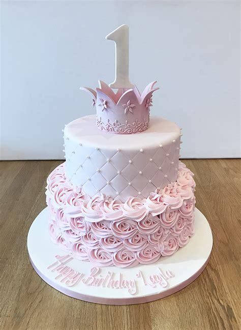 Princess Birthday Cake by Home The Cakery Leamington Spa