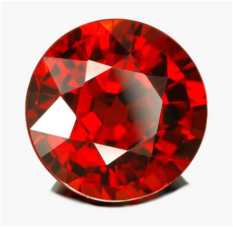 red gem spessartite garnet gemstone jewelry information