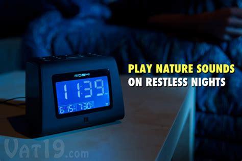 moshi digital alarm clock radio voice activated amfm