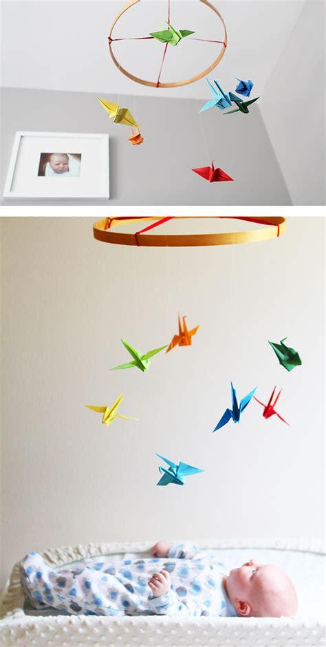 Diy Origami Crane - diy paper crane mobile
