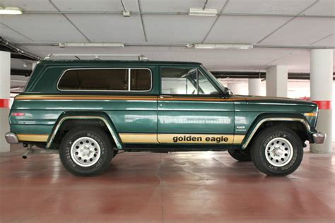 jeep cherokee golden eagle 1980 jeep cherokee golden eagle 4 2 l for sale