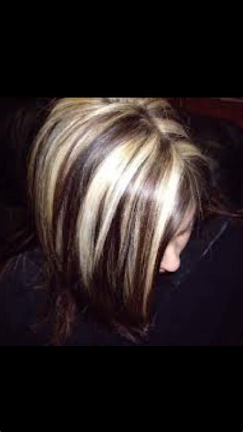 brunette to platinum streaks 500 best images about chunky streaks lowlights 2 on