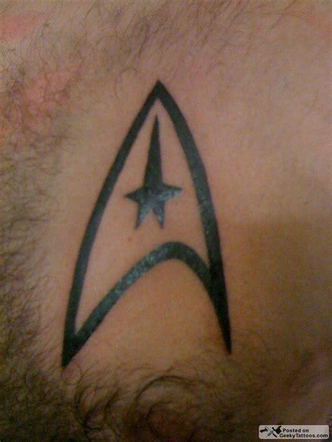 starship tattoo trek ink
