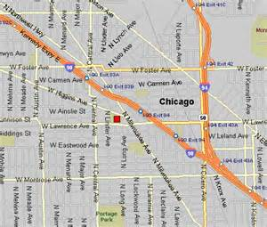 chicago highway map chicago city wide symphony orchestra directions