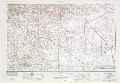 map of dalhart texas dalhart topographic maps nm tx ok usgs topo 36102a1 at 1 250 000 scale