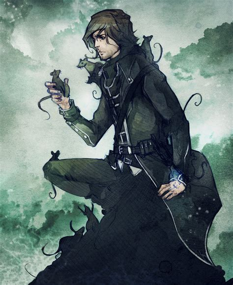 corvo x reader dishonored by mesoclumsy on deviantart