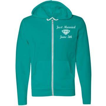 just design hoodie just married hoodie