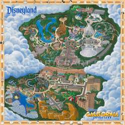 disneyland park california map disneyland park map sam