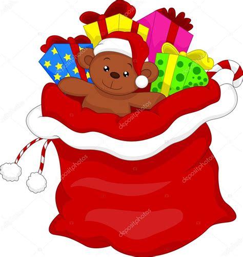 imagenes de santa claus entregando regalos bolsa de regalo de santa claus lleno de juguetes y regalos