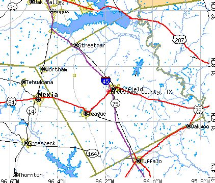 freestone county map freestone county detailed profile houses real