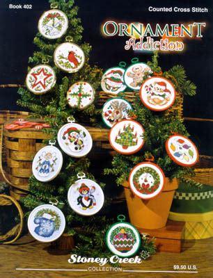 stoney creek ornament addiction cross stitch pattern