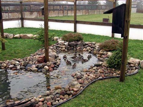 Backyard Duck Pond Ideas 1000 Ideas About Duck Pens On Pinterest Duck House Duck Coop And Duck Pond