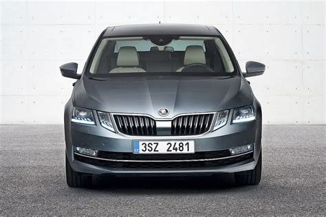 skoda ocavia news 2017 skoda octavia facelift breaks cover