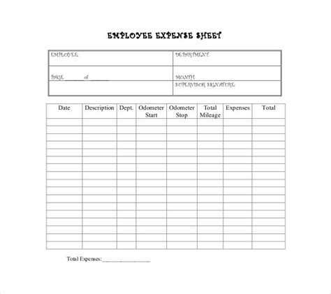income and expenditure form template expenditure budget template 8 free word excel pdf