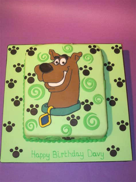 scooby doo cake template birthday cakes images marvellous scooby doo birthday cake