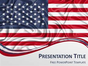 America Powerpoint Template by America The Free Powerpoint Template Library